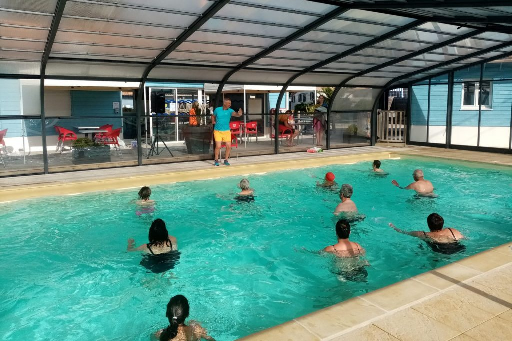 Activité aquatique piscine camping Loire Atlantique