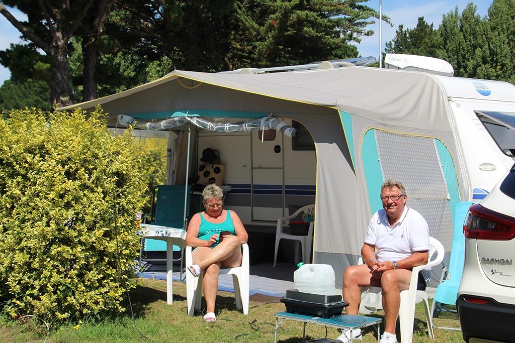 Camping Du Vieux Château : Emplacement Camping Vieux Chateau